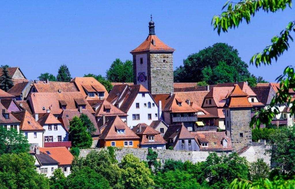 Le village medieval de Rothenburg ob der Tauber
