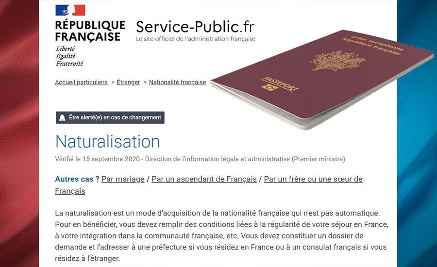 Naturalisation France