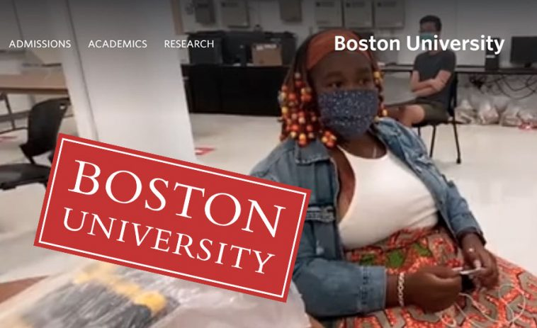 bourse etudes boston university