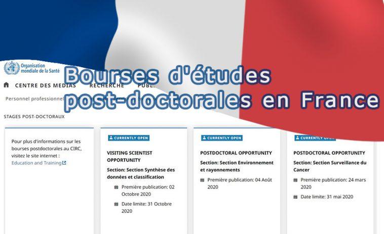 Bourse doctorat France