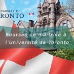 Bourse etude Toronto Canada