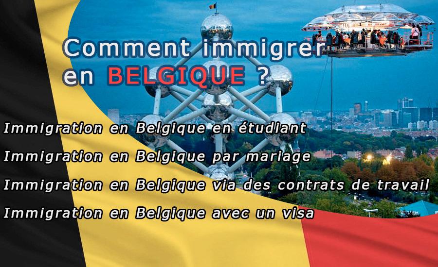 immigrer en belgique